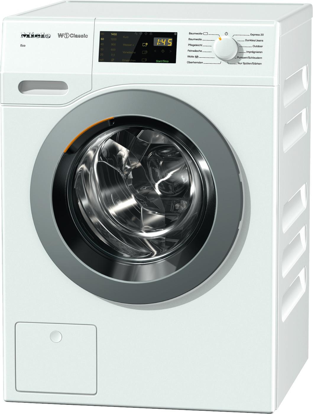 miele waschmaschine wdb030wcs eco 7kg 1400 u min a. Black Bedroom Furniture Sets. Home Design Ideas