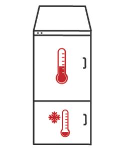 Kühl-Gefrier-Kombinationen